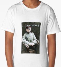 """Manfred von Richthofen """"The Red Baron"""" in Schweidnitz, 1918 Long T-Shirt"""