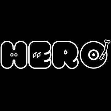 DJ Dance EDM Music Icon Hero Boss by ellumination