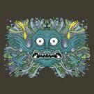 Reef Geek Tee Shirt by Ross Radiation
