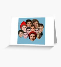 Michael Cera Collection Greeting Card