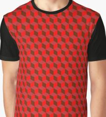 Red Repeater Graphic T-Shirt