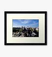 View of Paris Framed Print