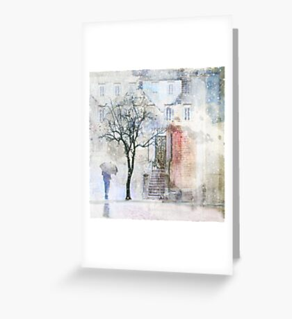 Dust of Snow Greeting Card