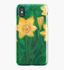 Daffodils at Dark iPhone Case