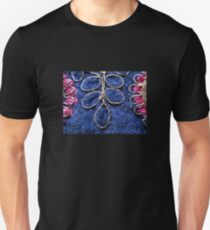 Abstract Blue and Pink, Unisex T-Shirt
