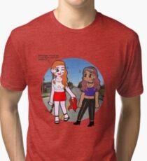 Car Race Tri-blend T-Shirt