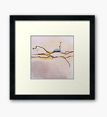 Landscape abstracted Framed Print
