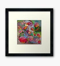 Seaflower Framed Print