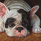 French Bulldog by artbyakiko