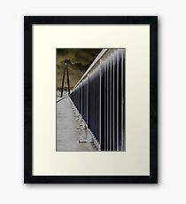 Batman Bridge Framed Print