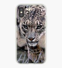 Wildlife Art - Snow Leopard iPhone Case