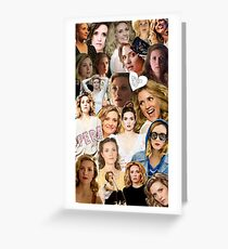 Evelyne Brochu Collage Greeting Card