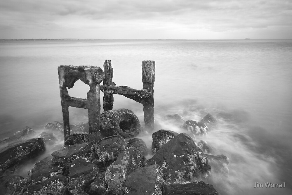 Skeleton - Point Nepean by Jim Worrall
