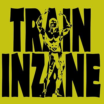 Frank Zane Bodybuilding Train InZane by inkstyl