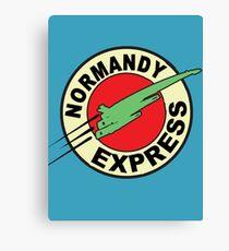 The Planet Express Parody: Mass Effect Canvas Print
