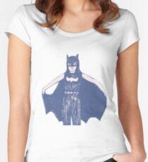 Batgirl Women's Fitted Scoop T-Shirt