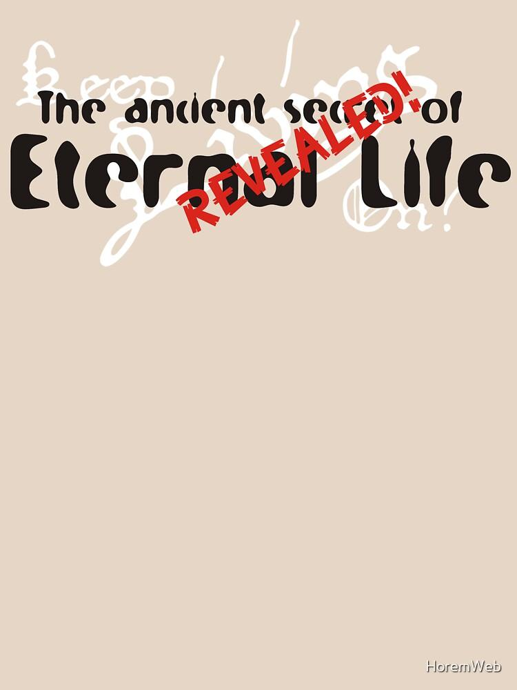 Ancient Secret of Eternal Life Revealed by HoremWeb