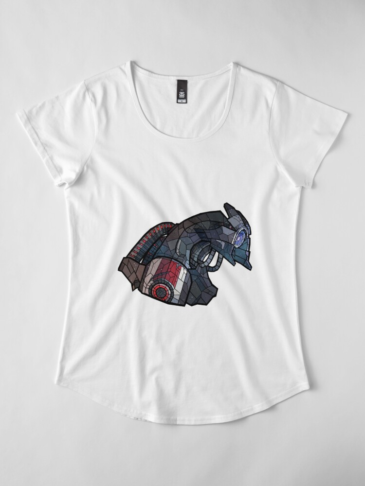 Vista alternativa de Camiseta premium de cuello ancho Legión