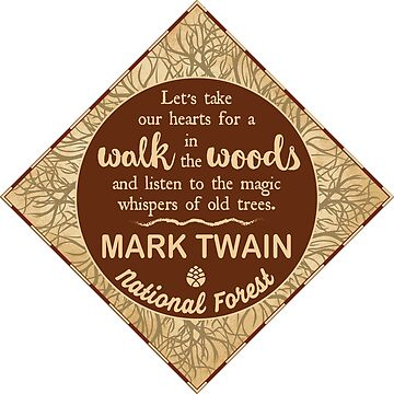 Mark Twain National Forest: Let's take our hearts for a walk in the woods by ginkgotees
