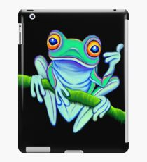 Colourful Cool Tropical Frog iPad Case/Skin