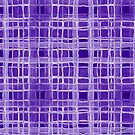 Irregular Purple Overlap  by Ruth Palmer