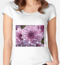 Macro Close Blossom Bloom Nature Flower Plant Women's Fitted Scoop T-Shirt