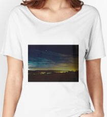 Stars Night Long Exposure Women's Relaxed Fit T-Shirt