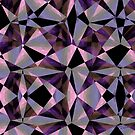Purple Jeweltoned Shapes by Ruth Palmer