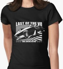 Mad Max Inspired Last of the V8 Shirt Womens Fitted T-Shirt