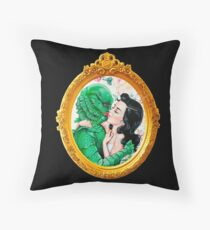 Classic Horror Movie Love Throw Pillow