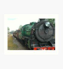 3642 - Steam Engine Art Print