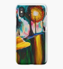 Autumn Streetscape iPhone Case/Skin