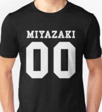Miyazaki PYREX (weißer Text) Slim Fit T-Shirt