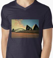 Channel to Music  Men's V-Neck T-Shirt