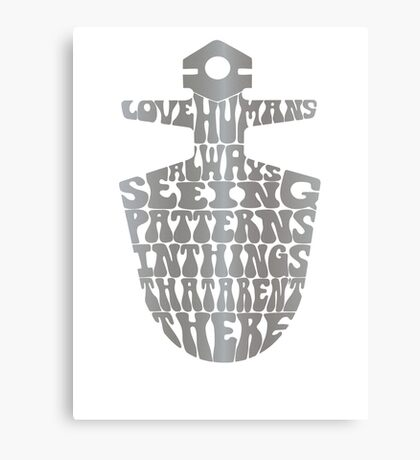I Love Humans Canvas Print
