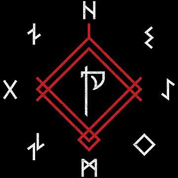 God of War Runes by huckblade