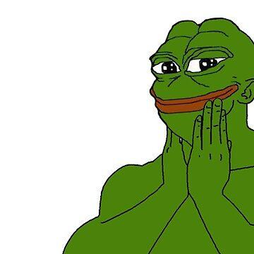 Smug frog pepe meme by SourPeach