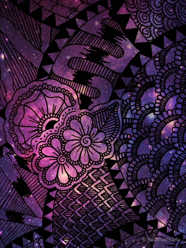 Space Floral by tropicalsamuelv