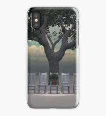 Bonsai on chair ... iPhone Case/Skin