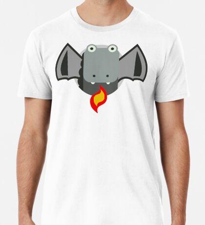 Cute Dragon Grey Premium T-Shirt
