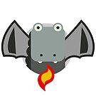 Cute Dragon Grey by wikirascals
