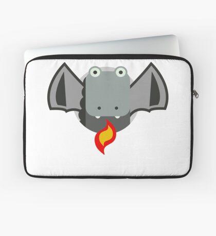 Cute Dragon Grey Laptop Sleeve