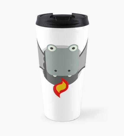 Cute Dragon Grey Travel Mug