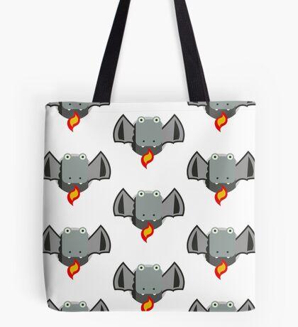 Cute Dragon Grey Tote Bag
