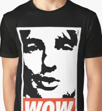 Wow. It's Owen Wilson. Wow. Graphic T-Shirt