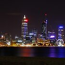 Perth Skyline by Paul Clarke