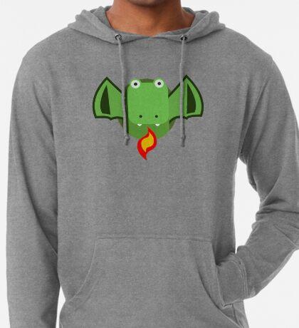Cute Dragon Green Lightweight Hoodie