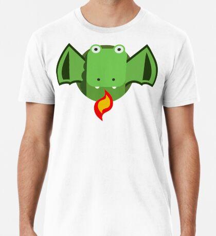 Cute Dragon Green Premium T-Shirt