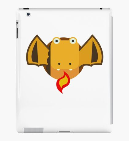 Cute Dragon Orange iPad Case/Skin