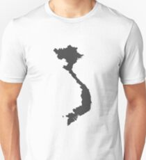 Vietnam Love in Charcoal Unisex T-Shirt